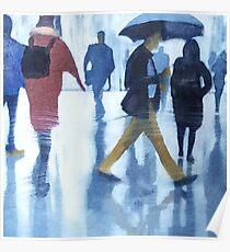 Umbrella Man Poster
