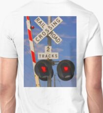 Trains - Railroad Crossing Unisex T-Shirt