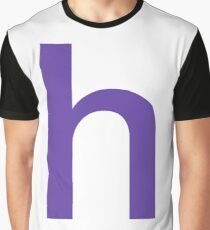 the letter h Graphic T-Shirt