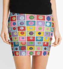 Buttons galore! Mini Skirt