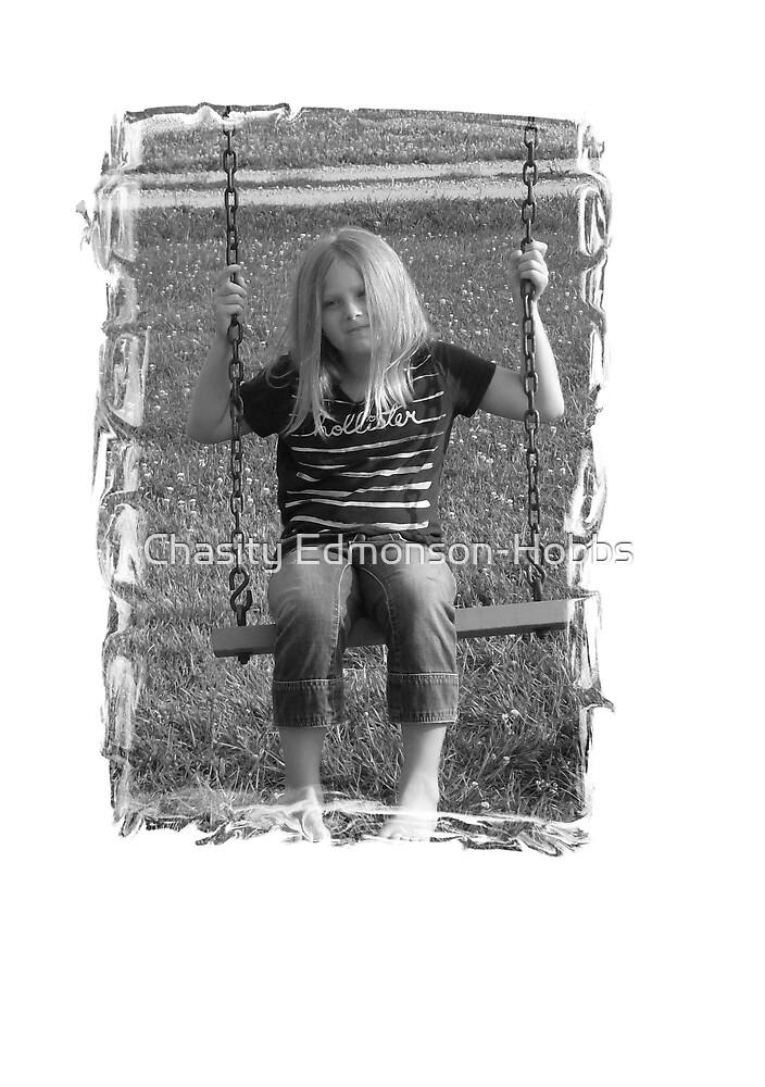 Haley on the swing by Chasity Edmonson-Hobbs