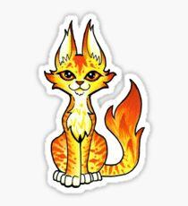 Ember Cat Sticker