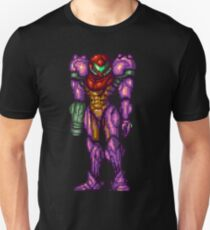 Samus Aran Purple Suit T-Shirt