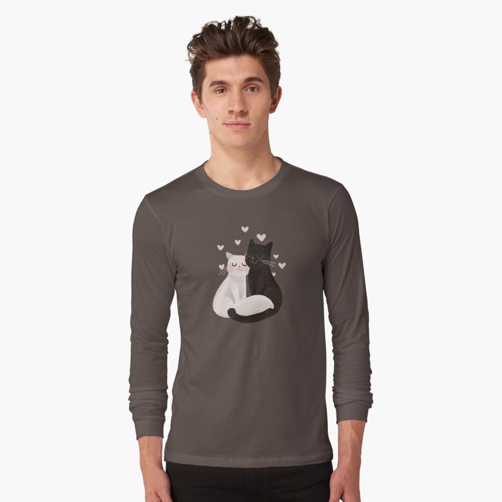Katzenliebe Langarmshirt
