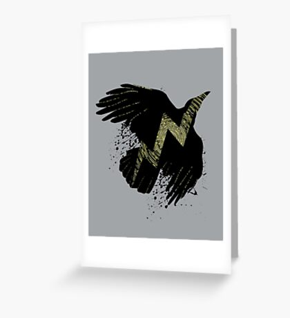 Thunder Bird Greeting Card