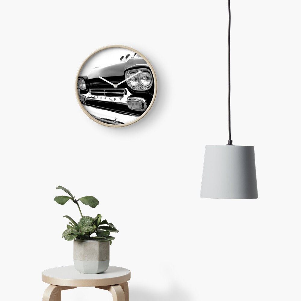 1958 Chevy Apache Clock