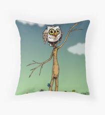 Owlar Throw Pillow