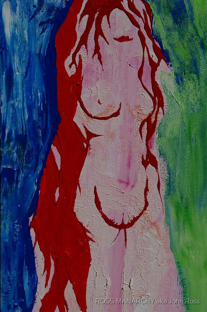 RED by ROSS MANARCHY aka John Ross