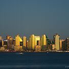 VIEW FROM HARBOR ISLAND by fsmitchellphoto