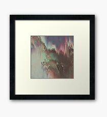 Abstract digital - Aurora Framed Print