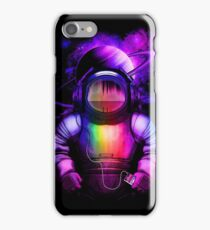 Music in space iPhone Case/Skin