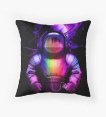 Music in space Throw Pillow