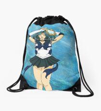 Sailor Senshi of Water Drawstring Bag