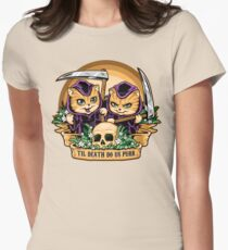 Til Death Do Us Purr Womens Fitted T-Shirt