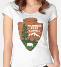 National Park Service Women's Fitted Scoop T-Shirt