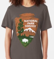 Service de parc national T-shirt ajusté