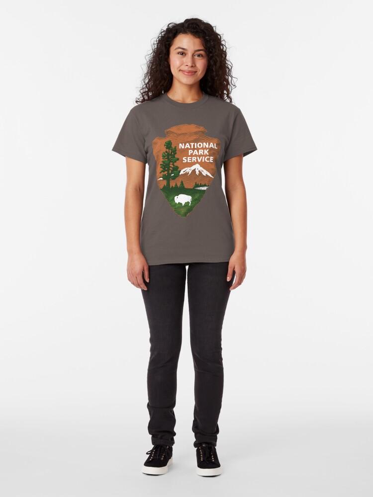 Alternative Ansicht von Nationalpark Service Classic T-Shirt
