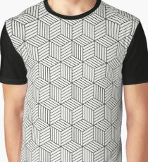 Wood Cubes Graphic T-Shirt