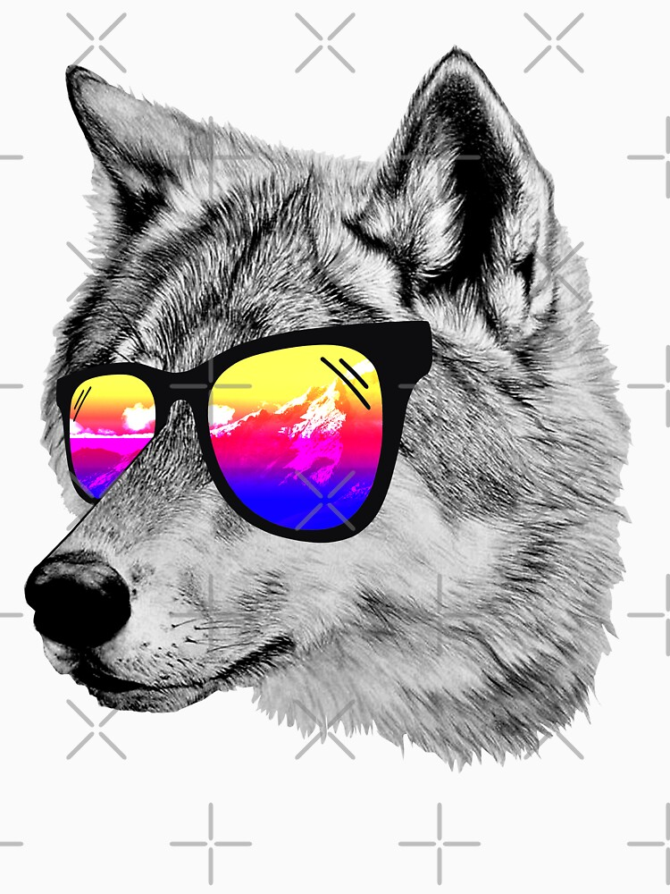 Cool Wolf by clingcling