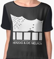 Herzog & de Meuron Logo - Elbphilharmonie Chiffon Top