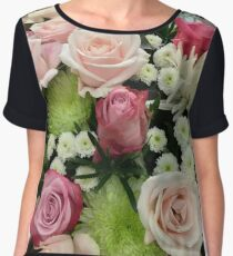 Vietnam - Saigon - Le Reverie flowers Chiffon Top