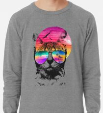 Summer Cat Lightweight Sweatshirt