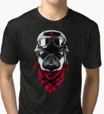 Adventurer Pug Tri-blend T-Shirt