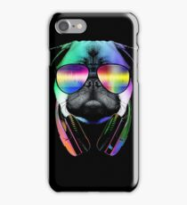 Music Love Pug iPhone Case/Skin