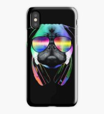 Music Love Pug iPhone Case