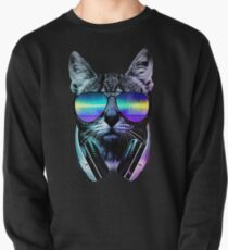 Music Lover Cat Pullover