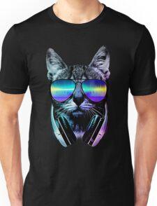 Music Lover Cat Unisex T-Shirt