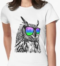 Cool Owl Women's Fitted T-Shirt