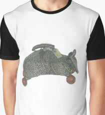 Armadillo Luggage Trolley Graphic T-Shirt