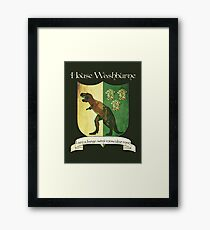 Firefly House Crest - Wash Framed Print