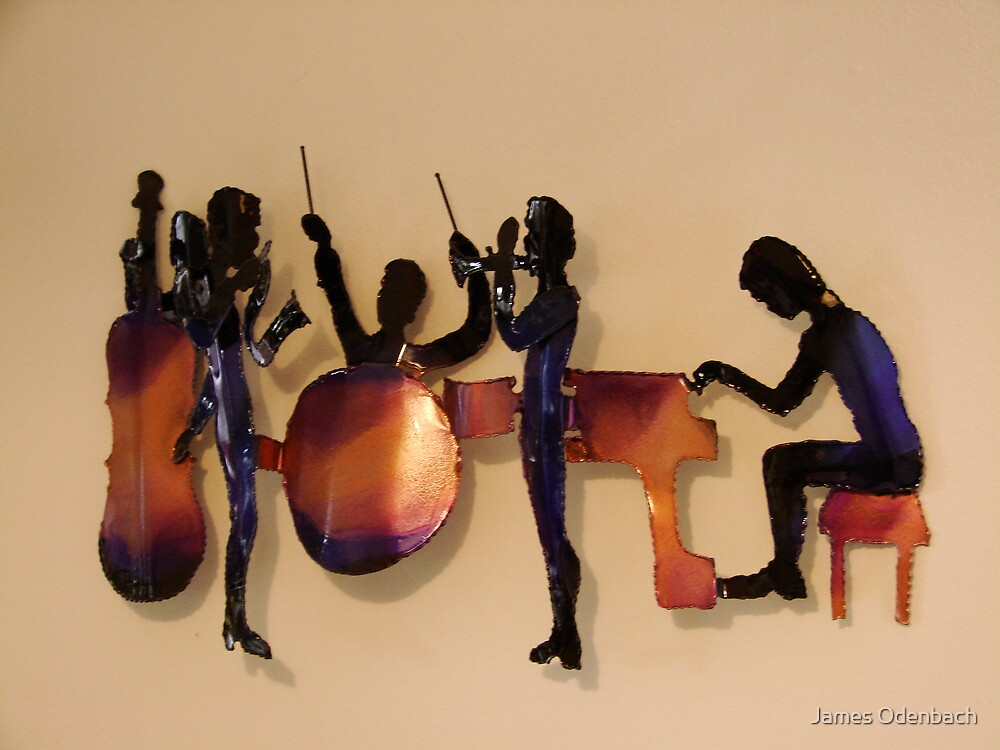 the band plays by James Odenbach