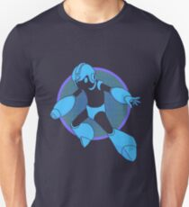 Retro Blue Hero T-Shirt