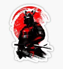 Samurai Warrior Sticker