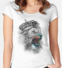 King Lion Women's Fitted Scoop T-Shirt