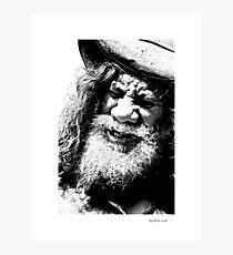 Aboriginal Busker Photographic Print