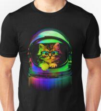 Cool kitten on the helmet T-Shirt