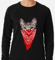 Gangster Cat Lightweight Sweatshirt