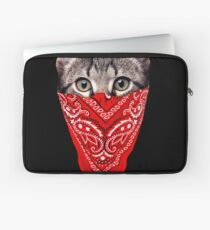 Gangster Cat Laptop Sleeve