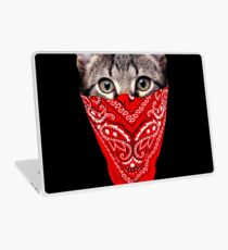 Gangster Cat Laptop Skin