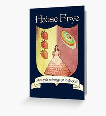 Firefly House Crest - Kaylee Greeting Card