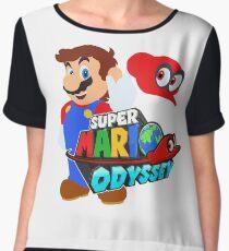 Super Mario Odyssey  Women's Chiffon Top