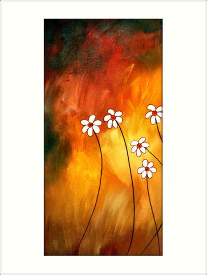 Dynamic Daisies 1 by Peggy Garr