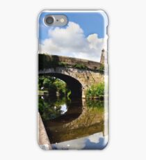 Lancaster Canal Reflections  iPhone Case/Skin