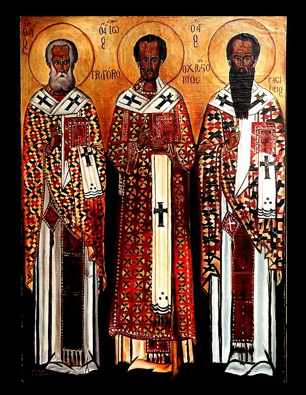 Three Disciples by William Younadam