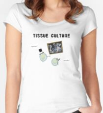 Tissue Culture Women's Fitted Scoop T-Shirt