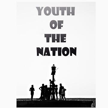 Youth of Nation with writing by Lazulyte